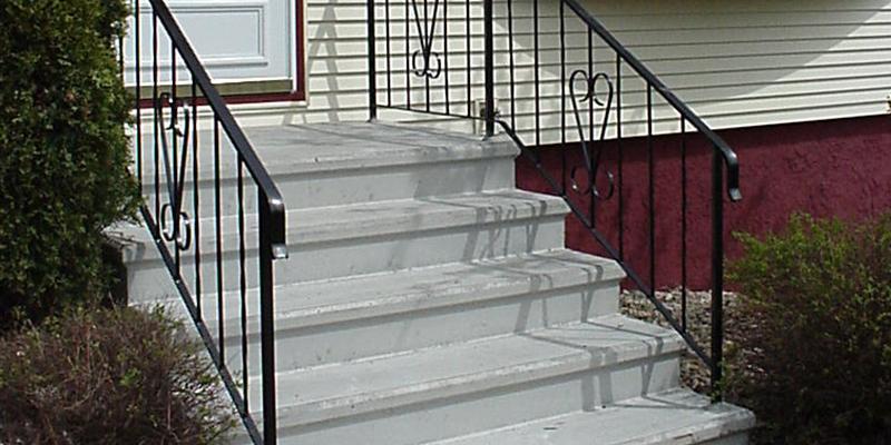 5 riser concrete step after image