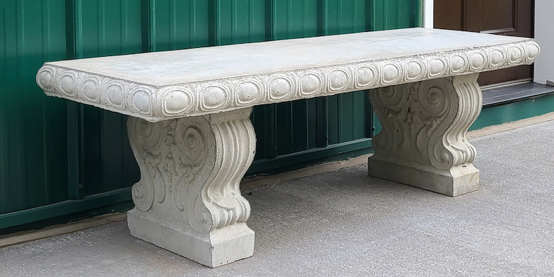 conctete benches